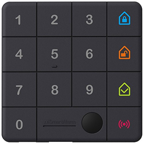 Ismartalarm KP3 Tastiera Controllare Sistema di Sicurezza per iOS/Android, Nero