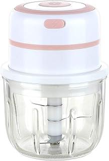 Iwinna Electric Mini Garlic Chopper Food Slicer USB Charging Mini Chopper Food Processor for Home Kitchen Gadgets