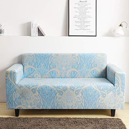 Mayama Sofabezug, dehnbar, bedruckt, Sofaüberwurf mit schönen Motiven, Möbelschutz, Sesselbezug und Sofas, 2-Sitzer (140 – 185 cm)