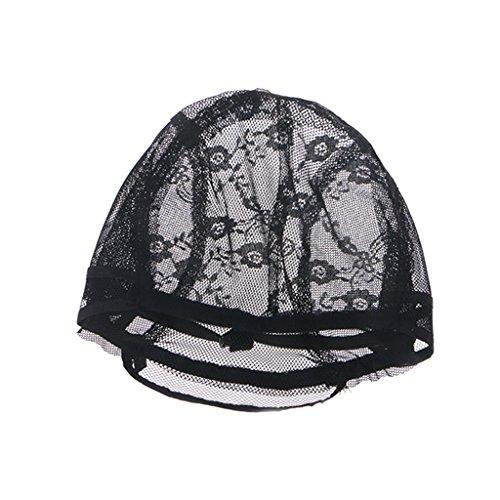 JIACUO Stretch Mesh Wig Caps avec Sangle réglable pour Faire des Perruques Tissage Tissage