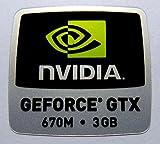 Vath Sticker Compatible with NVIDIA Geforce GTX 670M 3GB 18 x 18mm [868]