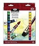 Royal & Langnickel - Acuarelas (12 ml, 24 unidades), multicolor