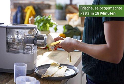 Philips HR2333/12 Pastamaker (vollautomatisierte Nudelmaschine mit 4 Formscheiben) - 2