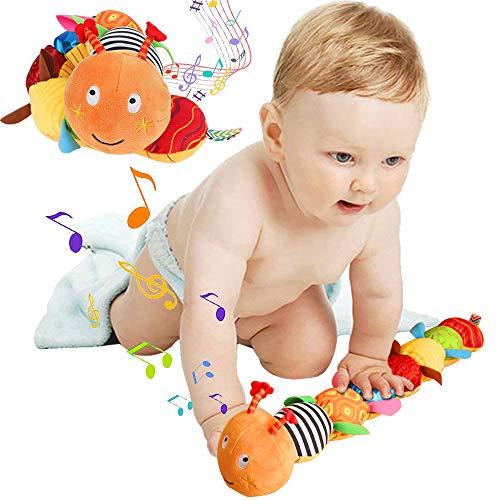 Jcobay Musical Caterpillar Toy...