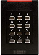 HID 6130 iCLASS RK40 Smart Card Reader With Keypad - 6130BKN000000