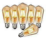 ILAMIQI Edison LED Vintage...