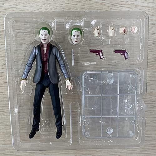 TJFGJ Harley Quinn Action Figure DC Suicide Squad Toys da Collezione (Color : Green)