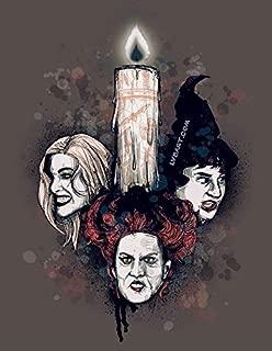 The Black Flame Candle Fine Art Print