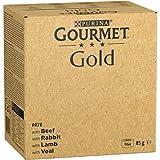 Nestle Purina Gourmet Gold Comida Húmeda para Gatos Pack Surtido Tartalette 96 Unidades 8160 g