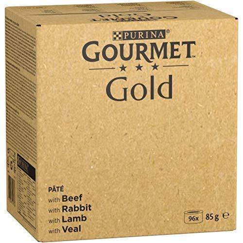 Nestlé Purina Gourmet Gold Comida Húmeda Para Gatos Pack Surtido Mousse 96 Unidades 8160 g