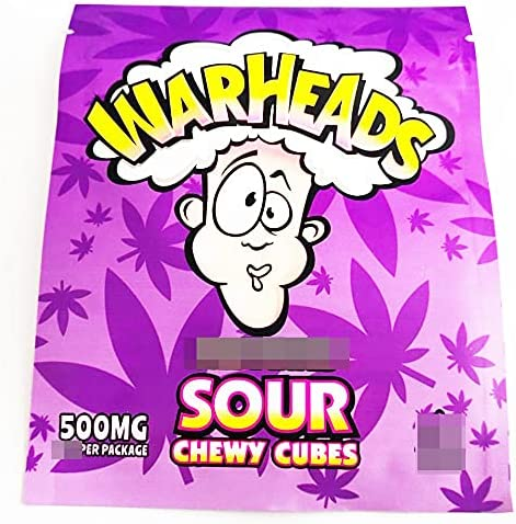 400 PCS Candy Bulk Max 51% OFF Edibles Packaging Max 51% OFF SOURS WARHEADS S TedInfused