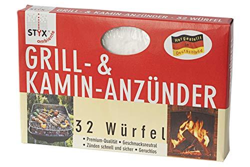 STYX Grill- & Kamin-Anzünder 32 Würfel