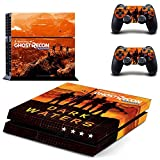 FENGLING Tom Clancy's Ghost Recon: Wildlands Ps4 Skin Sticker Decal per Playstation 4 Console e Controller Skin Ps4 Sticker Vinile