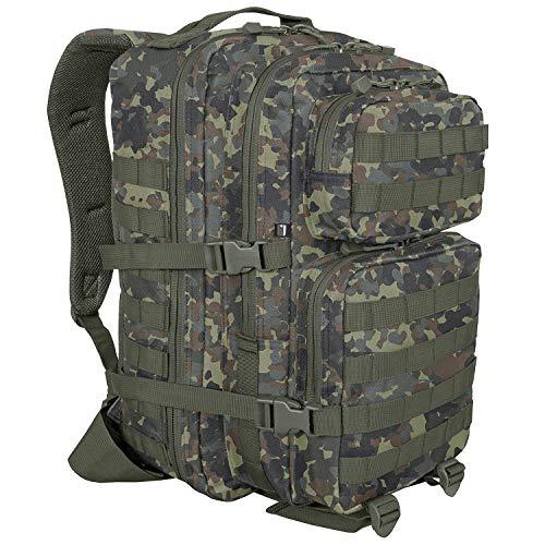 bw-online-shop US Cooper Rucksack Large - Flecktarn