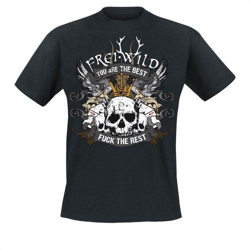 Frei.Wild - Sieger Stehen Da Auf. T-Shirt, schwarz, Grösse 5XL