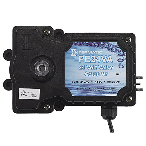 Intermatic PE24VA Valve Actuator, Black