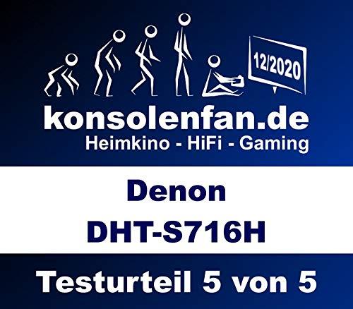 Denon DHT-S716H - Barra de Sonido con HEOS con Sonido