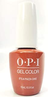 New Look GELCOLOR SOAK OFF GEL NAIL POLISH 0.5 OZ IT'S A PIAZZA CAKE GC V26 New and Genuine