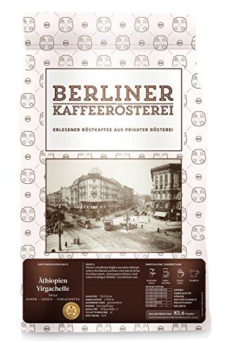 Berliner Kaffeerösterei Äthiopien Yirgacheffe, 1er Pack (1 x 1 kg)