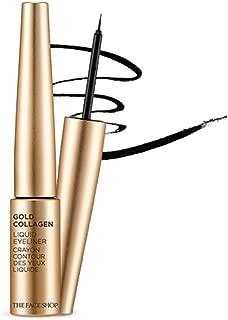 The Faceshop Gold Collagen Liquid Eyeliner 01 Black (6g)
