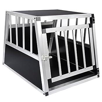 EUGAD 1 X Cage de Transport en Aluminium Boîte pour Transport en Aluminium,Noir 0054HT