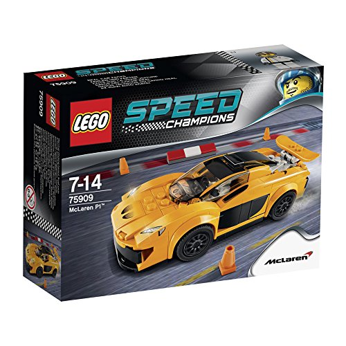 LEGO Speed Champions - 75909 - Jeu De Construction - Mclaren P1tm