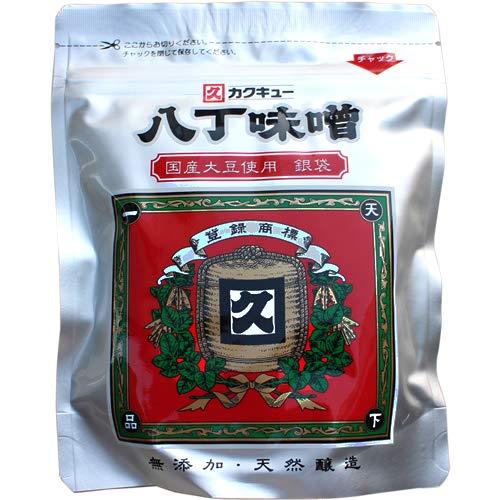 カクキュー 八丁味噌 300g (国産大豆使用 銀袋 1袋)