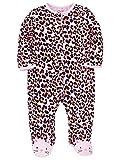 Little Me Leopard Footie - Newborn