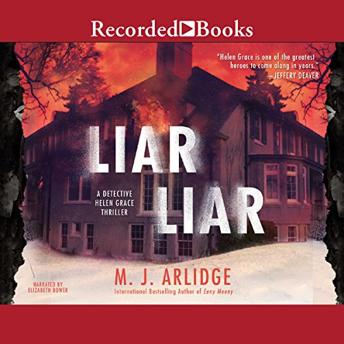 Liar Liar audiobook cover art