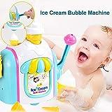 decaden Badewannenspielzeug seifenblasenmaschine Baby Spielzeug Seifenblasen Badespielzeug Wasserspielzeug Badewanne Kinder Schaumeismaschine Geeignet für Kinder über 2/3/4 Jahre