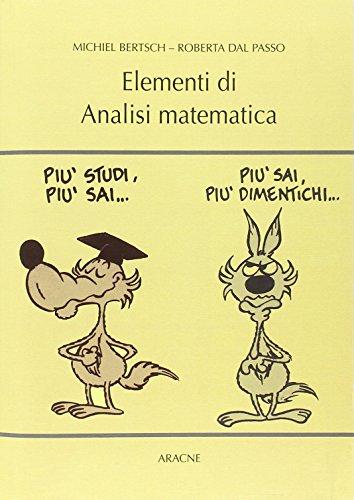 Elementi di analisi matematica