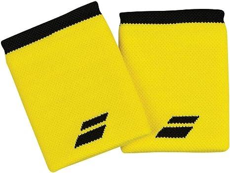 Babolat Logo Jumbo Wristband Muñequera, Adultos Unisex, Blazing Yellow/Black (Multicolor), Talla Única: Amazon.es: Deportes y aire libre