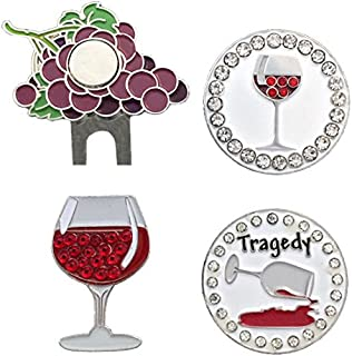 Giggle Golf Bling Wine Not Golf Ball Marker Pack