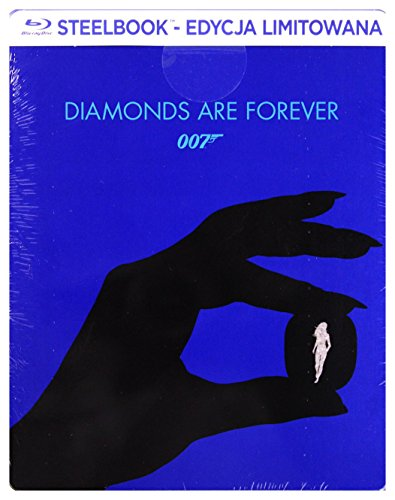 007 - Una cascata di diamanti Steelbook [Blu-Ray] [Region B] (Audio italiano. Sottotitoli in italiano)