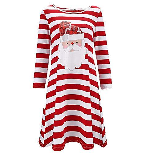 Christmas Pull Tee Shirt Femmes Noël Renne Imprimé à Capuchon Cordon Mini Imprimé Manche Longue Costume Robe Pullover Sweat-Shirt Robe Blouse Haut Sweat Tricot Tunique Chaud BF_Rouge S
