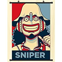 スクロール壁画ポスターアニメ漫画壁掛けポスターワンピースルフィオタクアニメーション周辺ファンギフト-40x60cm,16inchx24inch