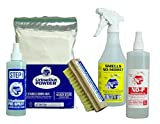 Small Hard Surface Cleaning Kit II - Pet Urine Odor Removal, Urine Remover & Eliminator – Dog & Cat Stain & Pee Cleaner Solution for Hardwood & Tile