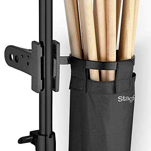 Stagg DSHB10 Drum Stick/Beater Bag Holder with Fast Clip System