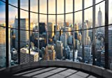 Eurographics DW-DT2011 Deco Wall Fototapete New York Office View 254 x 366 cm