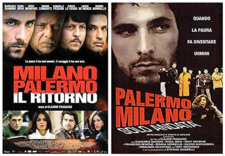 Dvd -film - palermo milano solo andata + milano - palermo il ritorno (2 dvd) B07TV5C2GY