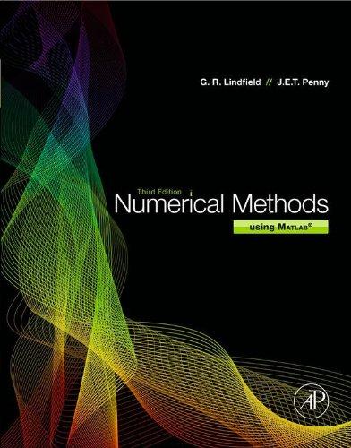 Numerical Methods: Using MATLAB (English Edition)