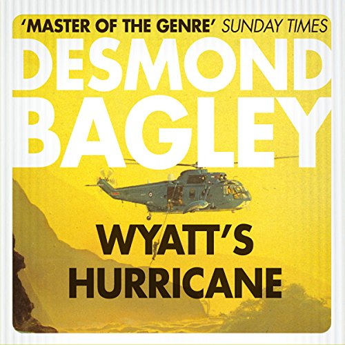 Wyatt's Hurricane audiobook cover art