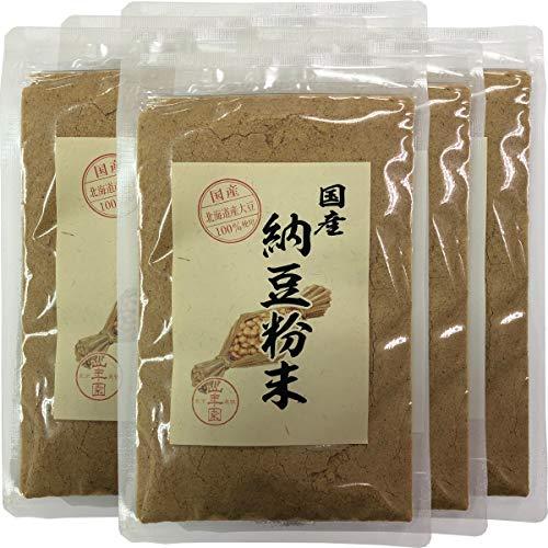 【国産100%】納豆粉末 50g×6袋セット 北海道産大豆使用 巣鴨のお茶屋さん 山年園