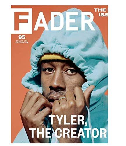 H/F Rapper Cantante Taylor's Creator Ritratto Dipinto Poster Wall Art Print Rivestimento Bianco Immagine Modern Home Decor Senza Cornice (15,7 X 19,6 Pollici) G8457