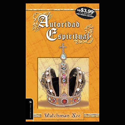 Autoridad Espiritual [Spiritual Authority] audiobook cover art