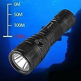 Odepro WD43 1000 lumen Scuba diving light ricaricabile 200m sottacqua con interruttore magnetico