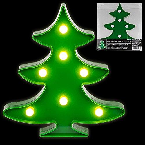 Lumière décorative en plastique de LED de sapin de Noël décoratif