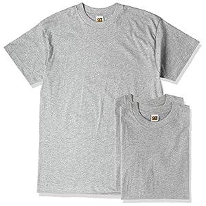[グンゼ] インナーシャツ G.T. HAWKINS T-SHIRT 3枚組 天竺 HK15133 メンズ グレー杢 日本L (日本サイズL相当)