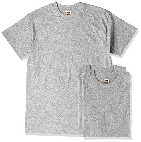 [グンゼ] インナーシャツ G.T. HAWKINS T-SHIRT 3枚組 天竺 HK15133 メンズ グレー杢 日本M (日本サイズM相当)