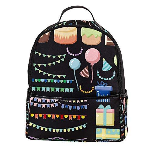 TIZORAX Taart Ballon Geschenken Laptop Rugzak Casual Schouder Daypack voor Student School Tas Handtas - Lichtgewicht